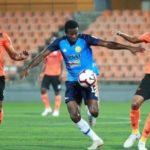 Thomas Abbey scores first goal for PKNP FC in draw against Felda United