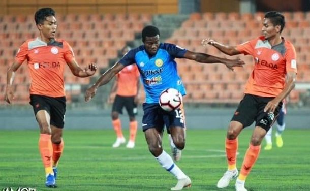Thomas Abbey scores first goal for PKNP FC in draw against Felda United