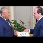 CAF President Ahmad pays courtesy on Egyptian President El-Sisi