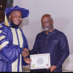 PHOTOS: Sound Engineer, Kaywa officially ordained man of God