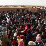 Two humanitarian corridors opened in Syria's Rukban