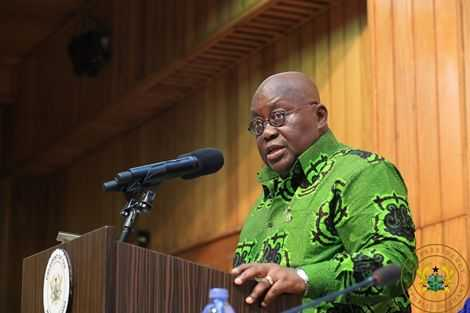 Ghana can't be poor – President Akufo-Addo