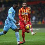 Trabzonspor striker Caleb Ekuban rues missed chances in win over Ankaragucu