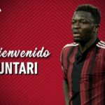 Wakaso hails Sulley Muntari as 'still Number 1' after Albacete move