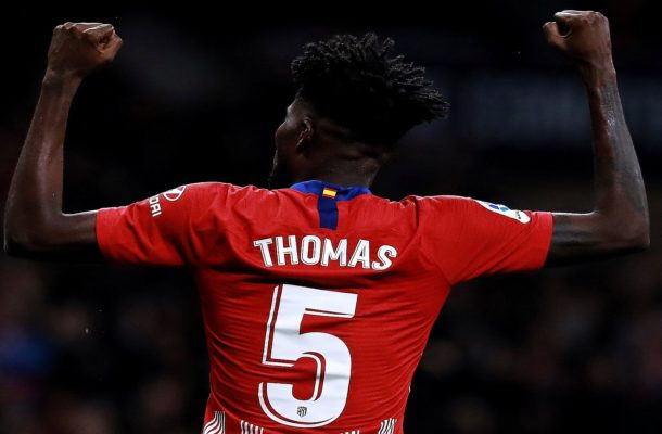 Thomas Partey pours cold water on Arsenal and Roma links