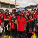 PHOTOS: Zanetor Rawlings, Oye Lithur, NDC bigwigs join hundreds in 'aagbe wo' demo