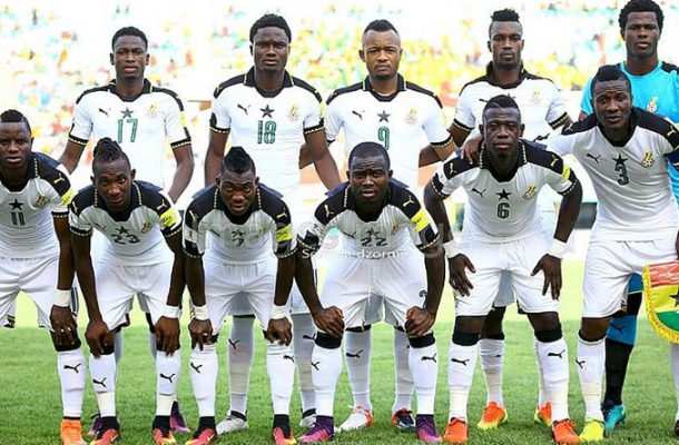 Ghana drop one place in latest Fifa rankings