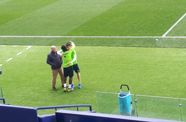Emmanuel Boateng says goodbye to Levante teammates ahead of China move