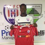 Inter Allies sign striker Chesco Amuzu