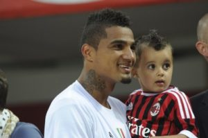 Boateng reveals his son Maddox is a huge fan of Barcelona icon Lionel Messi