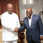 "Mahama MOCKS Akufo-Addo; says only a certain lawyer understands ""review"" to mean ""abolish"""