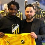 Kwame Kizito signs for Swedish side BK Häcken to Hearts speculations