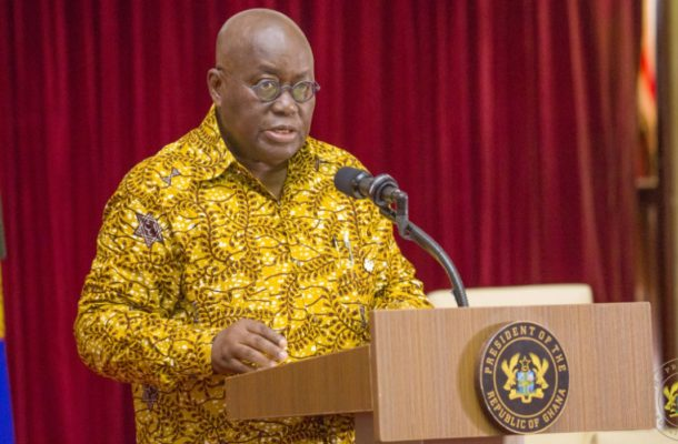 Akufo-Addo wages war on digital fraudsters; vows to deal with them ruthlessly