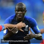CHELSEA midfielder N'KANTE turns down PSG option
