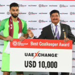 Qatar's Saad Al Sheeb crowned Best Goalkeeper