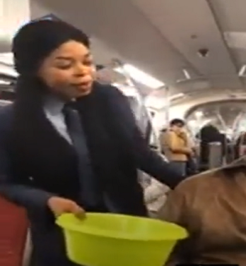 Dzidzor Mensah break silence on why she 'begged for money' on German train