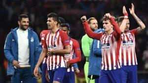 Atletico beat Juventus 2-0 in Champions League last 16