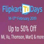 Flipkart TV Days Sale: Don't miss these last day offers on LG, Vu,Mi