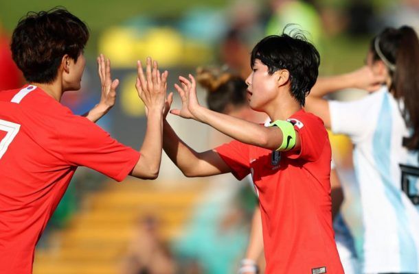 Korea Republic open Cup of Nations brightly