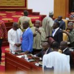 JUST IN: Minority walks out as Lydia Alhassan is sworn in as MP