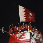 Huge crowds greet the Maroons as they fly home