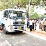 Zoomlion unveils street sweeping vehicles