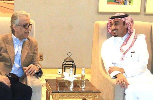 AFC President meets HRH Prince Abdulaziz, hails Saudi Arabia