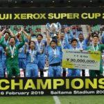 Kawasaki Frontale clinch Super Cup