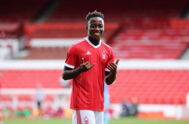 Ghanaian youngster Arvin Appiah bags brace in Nottingham U-23 draw