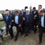 Rouhani vows compensation as he visits flood-hit north