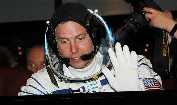 Two US astronauts, Russian cosmonaut arrive at ISS