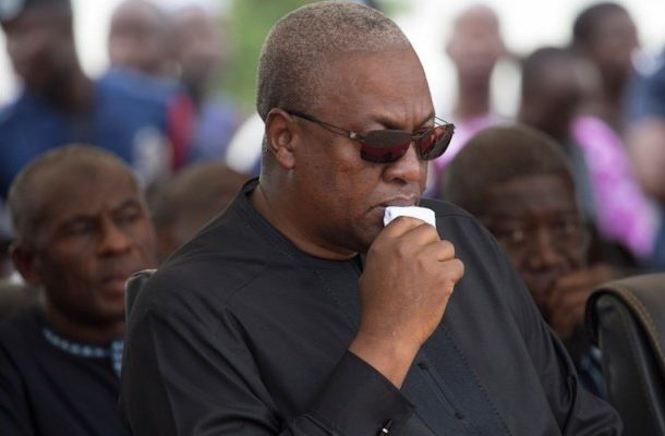 Kpo/Ekumfi Dunkwa accidents: Ex-President Mahama commiserates with victims, bereaved families