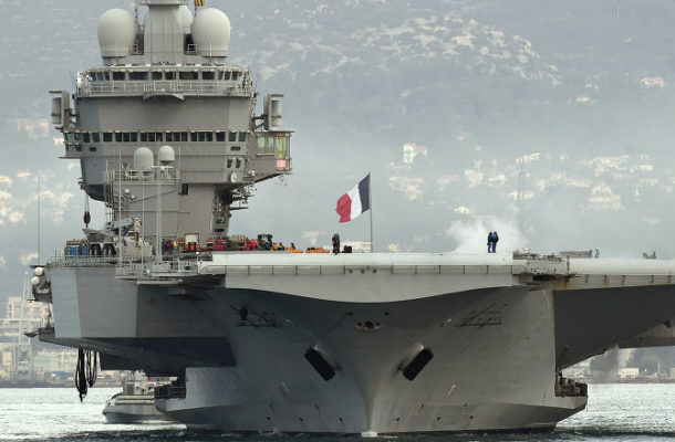 French Carrier Strike Group Joins Operations Against Daesh – US Central Command