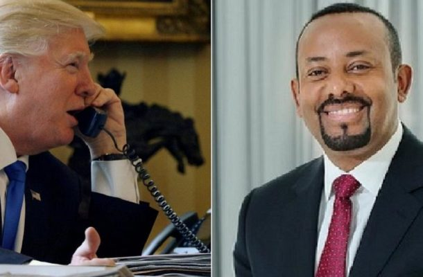 Trump hails Ethiopian Airlines, backs reforms in phone call with Abiy
