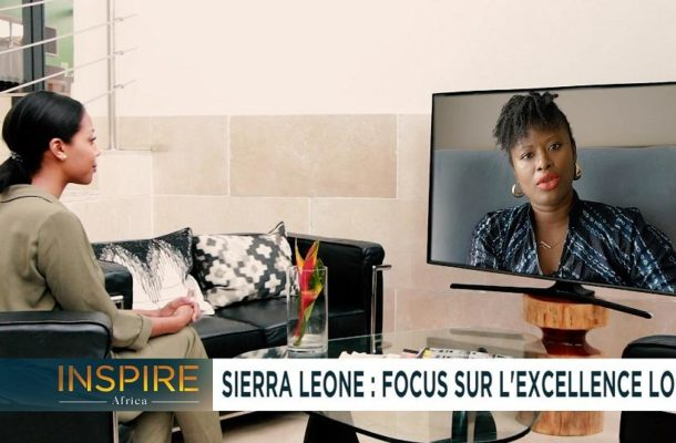Rediscovering Sierra Leone with Vicki Remoe [Inspire Africa]
