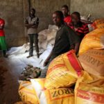 Mozambique: first aid arrives in Dondo community
