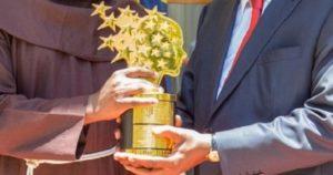 Photos: Kenya's $1m Teacher Prize winner meets President Kenyatta