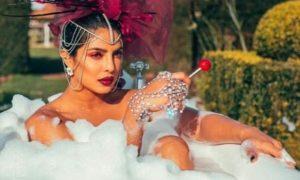PHOTOS: Priyanka Chopra shares racy bathtub photo from the music video for The Jonas Brothers' new single