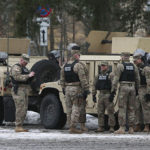 Collateral Damage? American Military Vehicles Collide in Poland (PHOTOS)