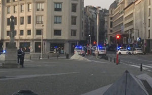 Dozens Reportedly Evacuated Following Bomb Threat in Brussels (PHOTOS)