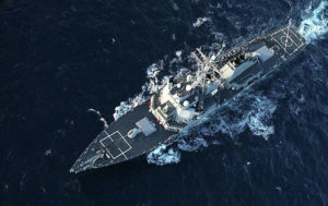 US Destroyer Caught Between Two Russian Warships Off Turkey (PHOTOS)