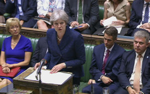 Theresa May Faces Questions in Parliament After Brexit Deal Voted Down (VIDEO)