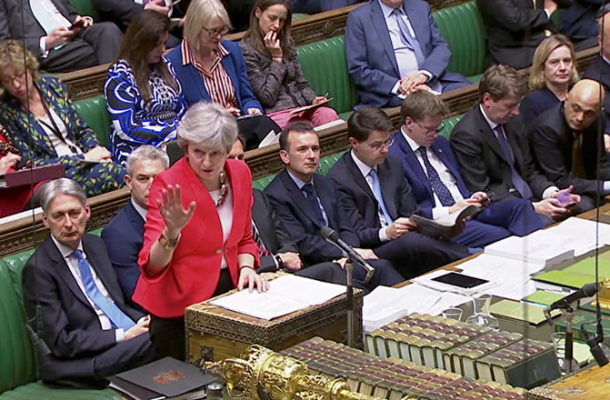 British PM May Addresses MPs Amid New Brexit Deadlines (VIDEO)
