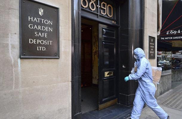 Was UK Police Blunder to Blame for £100 Mln Hatton Garden Jewellery Heist?