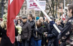 Over 1,000 People Take Part in Waffen-SS Veterans March in Riga (PHOTOS)