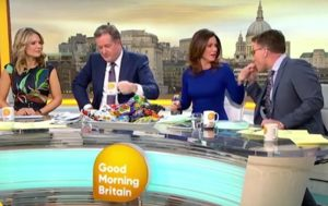 TV Presenter Stuns Co-Hosts by Putting Colleague's Finger in Mouth (VIDEO)