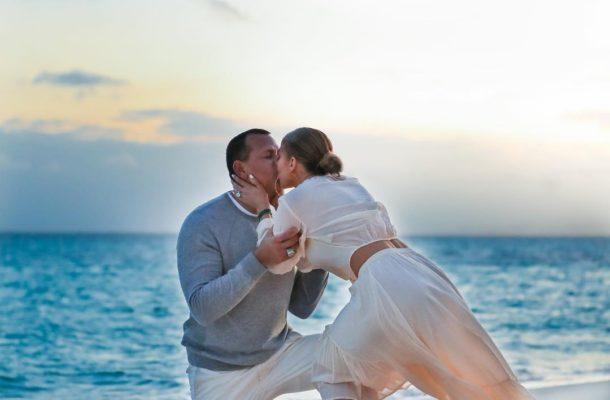 First look at Jennifer Lopez & Alex Rodriguez' beachside Proposal
