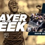 Philadelphia Union forward David Accam named MLS Player of the Week