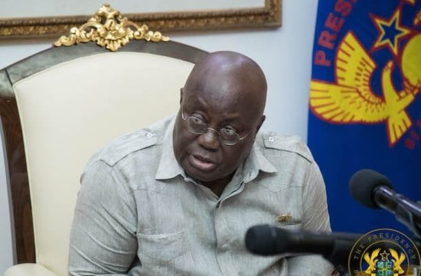 I have ordered AG to draft law to disband political party vigilante groups - Nana Addo