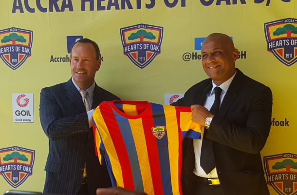 Hearts of oak rubbish 'concocted' reports about Kim Grant exit